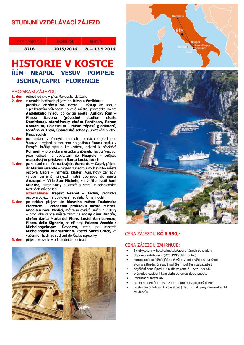 Itálie info
